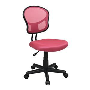 Chaise de bureau, rose