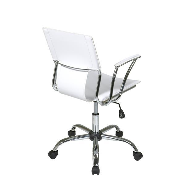 Chaise de bureau Dorado, blanc