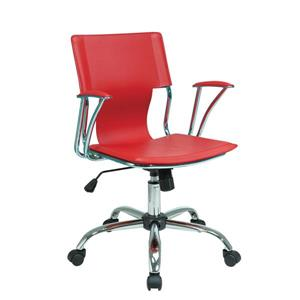 Chaise de bureau Dorado, rouge