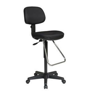 Chaise en mousse, noir