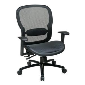 Chaise en filet, noir