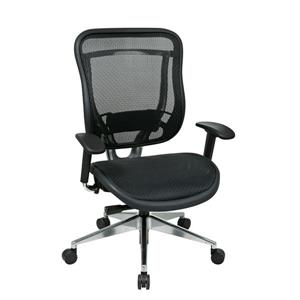 Black High Back Chair