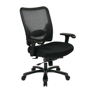 Chaise de bureau ergonomique, noir