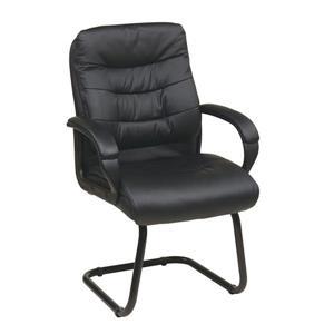 Chaise à haut dossier, noir