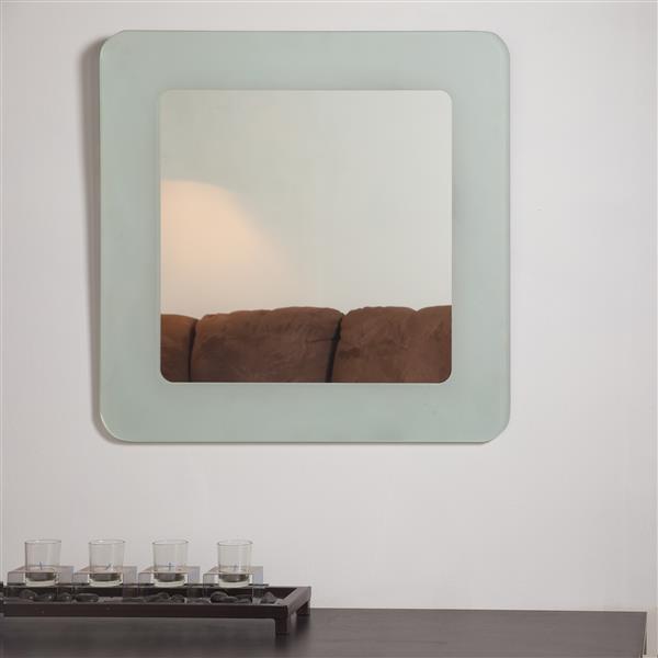 """Miroir Bella, 27,6"""", carré"""