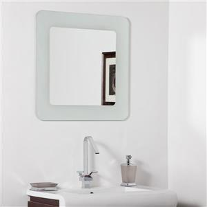 Decor Wonderland Bella 27.6-in Square Mirror