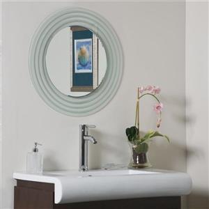 Decor Wonderland Isabella 23.5-in Round Mirror