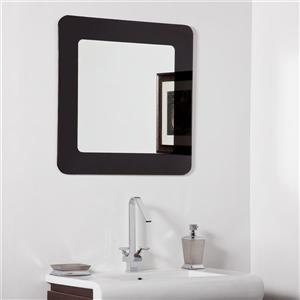 Decor Wonderland Ella 27.6-in Square Mirror