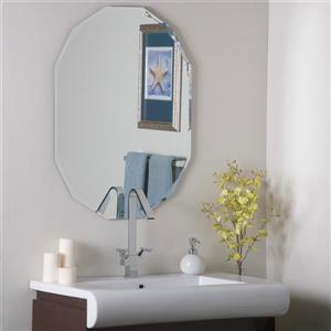 Decor Wonderland Diamond 23.6-in Octagonal Mirror