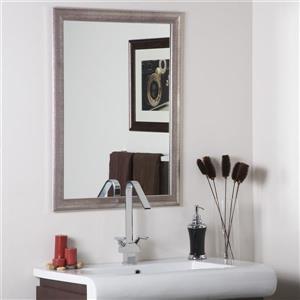 """Miroir Modern, 31,5"""", rectangulaire"""
