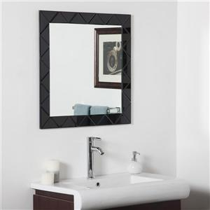 Decor Wonderland Luciano  27.6-in x 27.6-in Square Mirror