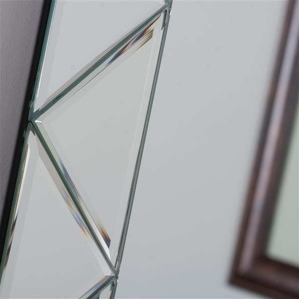 Decor Wonderland Luciano 27.6-in Square Mirror