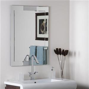 Decor Wonderland 23.6-in Francisca Rectangular Mirror