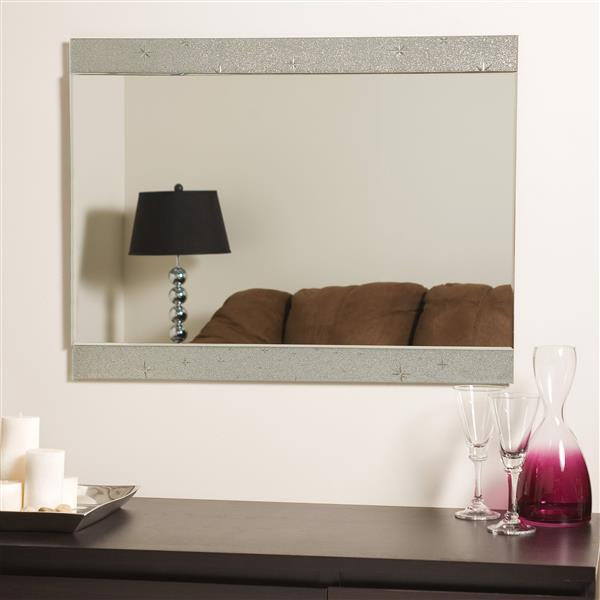Decor Wonderland Starlight 23.6-in Rectangular Mirror