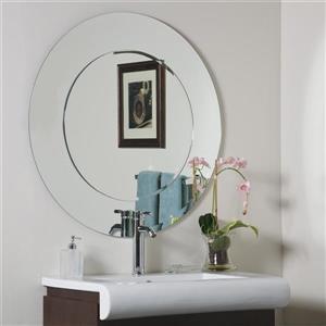 Decor Wonderland Oriana 35-in Round Mirror