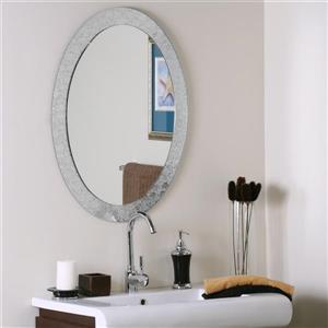 Decor Wonderland 23.6-in x 31.5-in Frameless Mirror