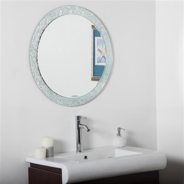 "Miroir Molten, 27,6"", rond"