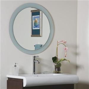 Decor Wonderland Zoe 27.6-in Round Mirror