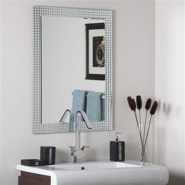 """Miroir sans cadre, 31,5"""" x 23,6"""", rectangulaire"""