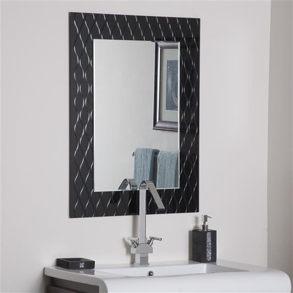 Decor Wonderland Strands 23.5-in Rectangular Mirror
