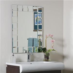 Decor Wonderland Montreal 23.6-in Rectangular Mirror