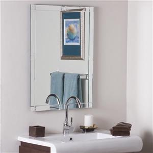 Decor Wonderland 23.6-in Frameless Rectangular Mirror