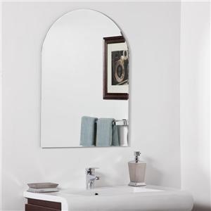 Decor Wonderland Rita 23.6-in Arch Mirror