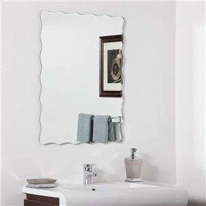 Decor Wonderland Angelina 23.6-in Rectangular Mirror