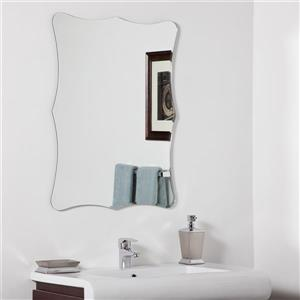 Decor Wonderland 23.6-in Bailey Mirror