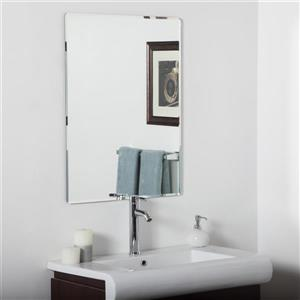 Decor Wonderland Vera 23.6-in Rectangular Mirror