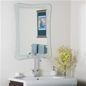 Decor Wonderland Frameless 23.5-in Mirror
