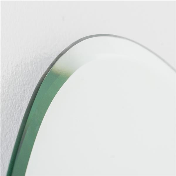 Decor Wonderland Sena 23.6-in Oval Mirror