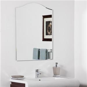 Decor Wonderland Amelia 23.6-in Arch Bathroom Mirror