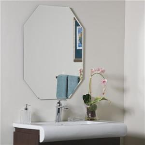 Decor Wonderland Frameless Octagonal  23.5-in Mirror