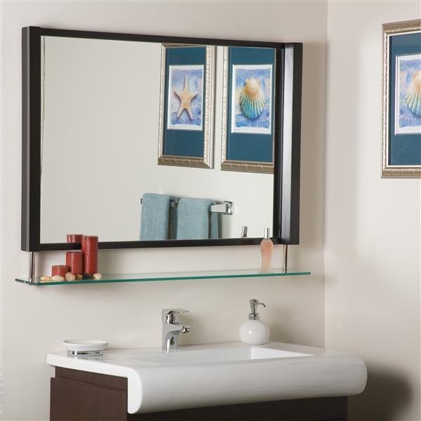 "Miroir New Amsterdam, 39,5"", rectangulaire"
