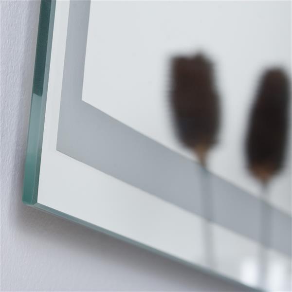"""Miroir sans cadre, 23,6"""" x 31,5"""", poli"""