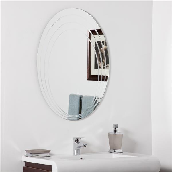 """Miroir Hanna, 23,6"""", oval"""