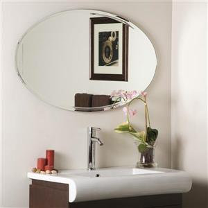 Decor Wonderland Extra 39.2-in Oval Mirror