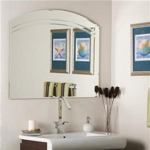 Decor Wonderland Angel 39.5-in Arch Bathroom Mirror