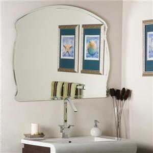 Decor Wonderland 39.5-in Frameless Arch Mirror