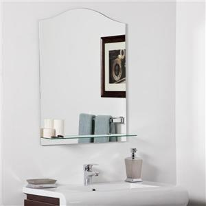 Decor Wonderland Abigail 23.6-in Arch Mirror