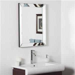 Decor Wonderland 23.6-in Rectangular Mirror