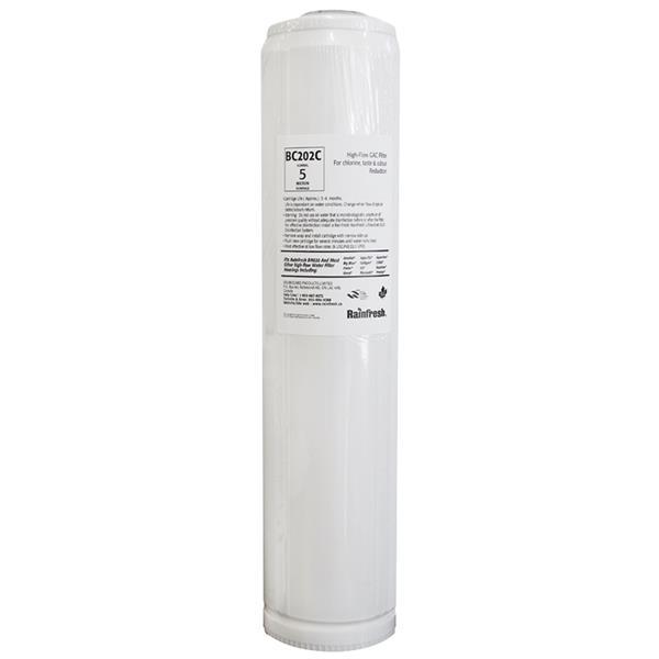 Rainfresh 20-in High Flow Chlorine Taste and Odour Canister