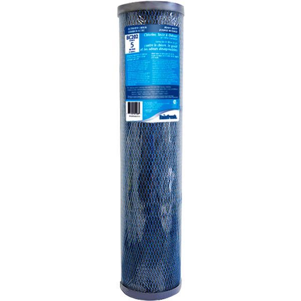 Rainfresh 20-in High Flow Chlorine Taste and Odour 5 Micron Cartridge