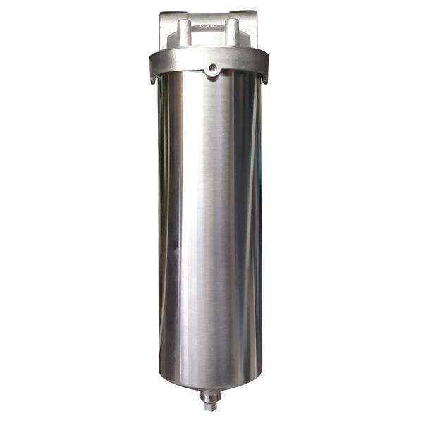 """Boîtier de filtre à eau, 10"""", acier inoxydable"""