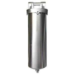 Rainfresh 10-in Stainless Steel Water Filter Housing