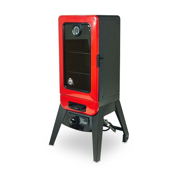 Pit Boss 46.93-In x 22.83-In Red 3 Series Gas Smoker