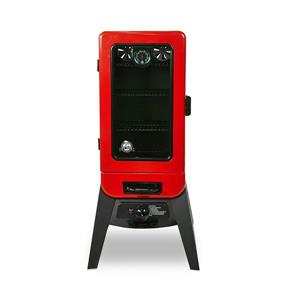 Pit Boss Gas Smoker - 3-Series - Red