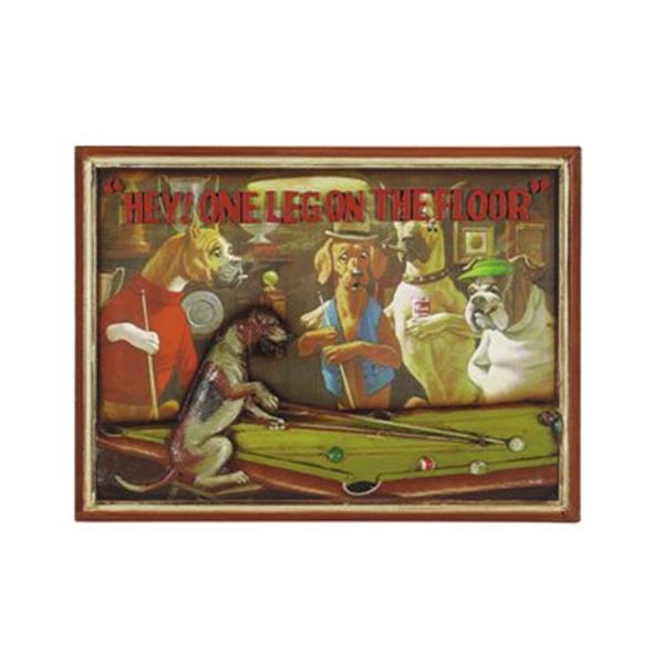 RAM Game Room Products 16.50-in x 22-in One Leg on The Floor Decorative Wall Panel