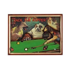 RAM Game Room 16.50-in x 22-in Jack The Ripper Framed Sign